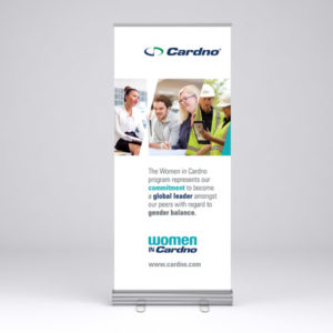 Cardno Pull Up Banner